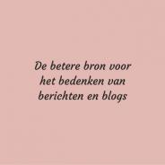 De betere bron voor het bedenken van berichten en blogs